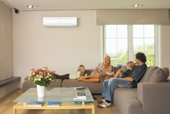 Beat the Heat Family Indoors Air Conditioning Image gogreenlightenergy.com